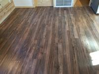 Beautiful new wooden floor!