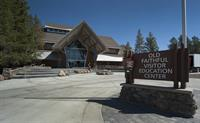 Old Faithful Visitors Center - Yellowstone Park