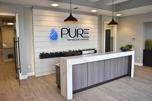 PURE Infusion Suites Lobby