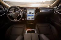 Tesla Model Sp85 interior