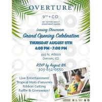 Member Event: Grand Opening Celebration of Overture 9th + Co leasing showroom