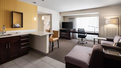 Suite - Spacious Living Area