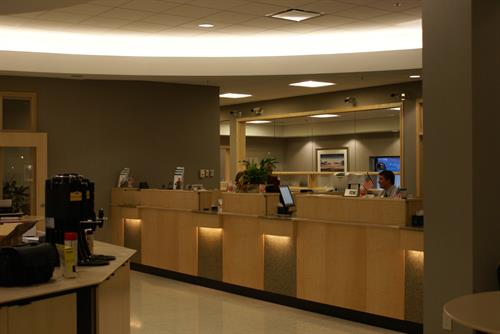 FIRST NATIONAL BANK CENTERRA TELLER LINE