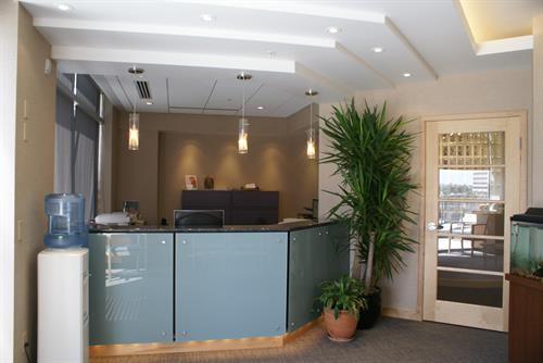 LANDMARK DENTAL RECEPTION