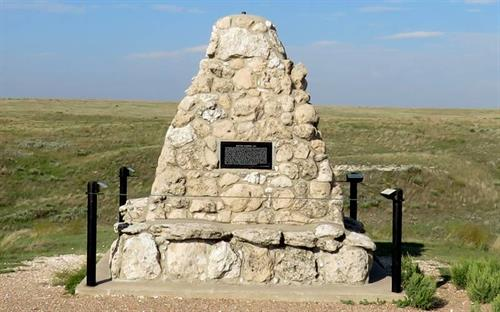 Monument at Punished Woman's Fork