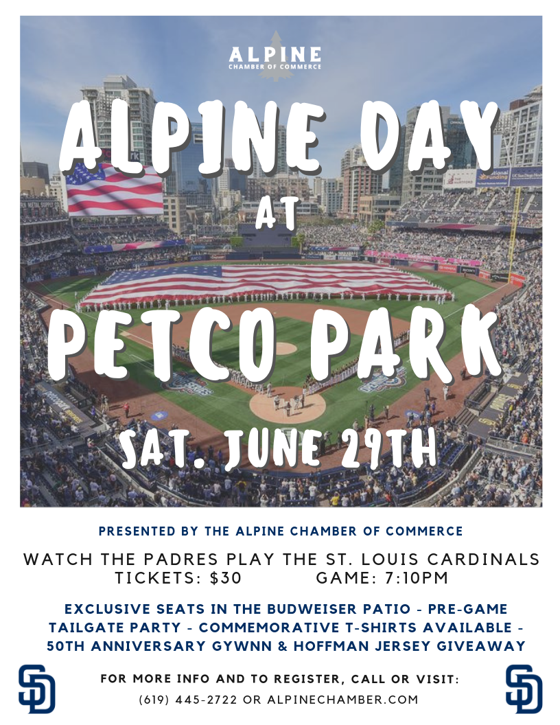 Alpine is going to Petco Park!