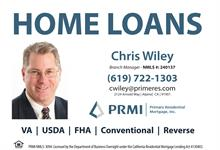 Primary Residential Mortgage Inc. - Chris Wiley