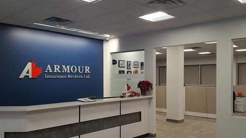 Armour Office Reception