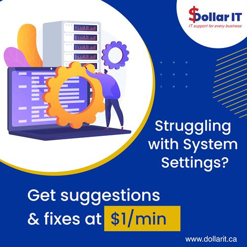 We are known to offer the best and quick solutions for all sorts of complex connections! Get quality IT services at $1/min Visit www.dollarit.ca #itsupport #windows #computerrepair #laptop #itsolutions #itservices #microsoft #cybersecurity #apple #technews #pc #it #computers #informationtechnology #software #laptoprepair #smallbusiness #datarecovery #support #business #techsupportlife #computertech #ittech #complexissues #simplesolutions #canadasmallbusiness
