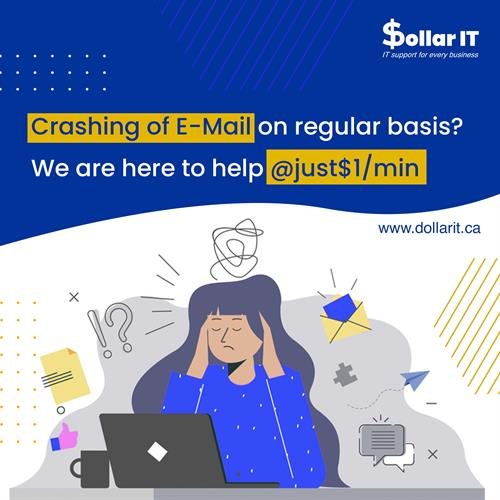 Emails Crashing slowing you down? Lets Solve it!  Connect with us for best IT support at just $1/min. #itsupport #windows #computerrepair #laptop #itsolutions #itservices #microsoft #cybersecurity #apple #technews #pc #it #computers #informationtechnology #software #laptoprepair #smallbusiness #datarecovery #support #business #techsupportlife #computertech #ittech #email #emailcrash #emailcrashing