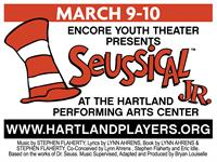 Seussical Jr. Live at the Hartland Performing Arts Center March 9th and 10th Only!