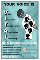 LACASA Teens Launch 'Your Voice' Awareness Campaign in March