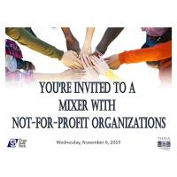 Mixer with Not-For-Profits 2019