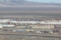 Aerial photo of Sierra Army Depot