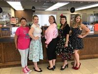 Lassen County Chamber 50-60's Dress Contest 2017
