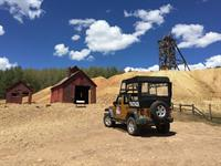 Visiting historic gold mining sites in Cripple Creek.