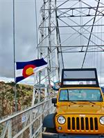 The only jeep tour over the Royal Gorge Bridge!