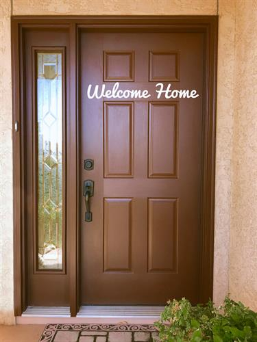 I love making dreams come true, one front door at a time... Welcome Home!