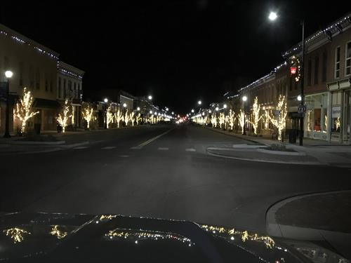 Downtown Canon City at Night
