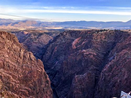 Snapped early morning at the Royal Gorge