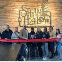 Steam Hollow Brewing Co. opens with Ribbon Cutting and Grand Opening