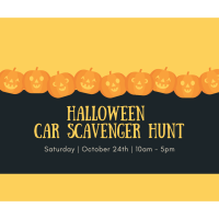 Halloween Car Scavenger Hunt