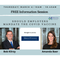 Information Session: Should Employers Mandate the Covid Vaccine