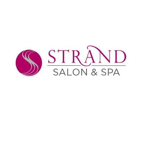 Logo design for Strand Salon & Spa, Mansfield, MA