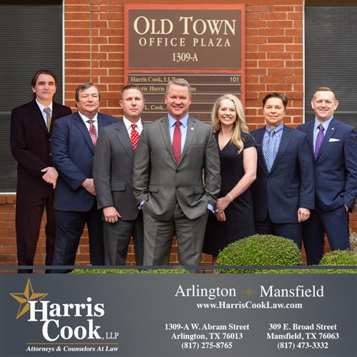 Team at Harris Cook Law