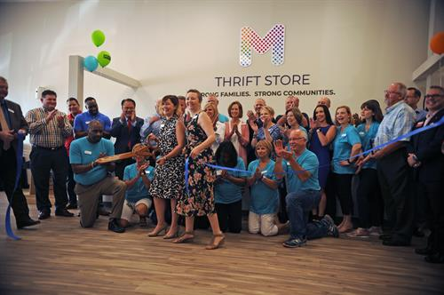 Thrift Store Ribbon Cutting!