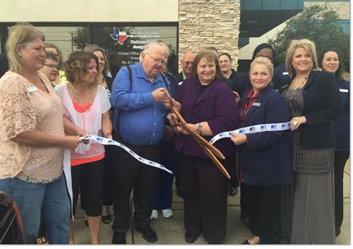 April 1, 2015  Chisholm Business Services Ribbon Cutting