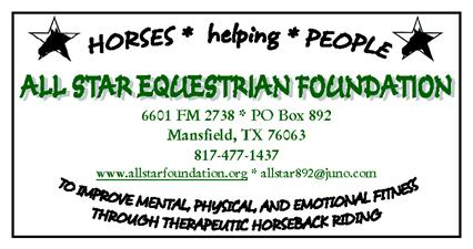 All Star Equestrian Foundation, Inc.
