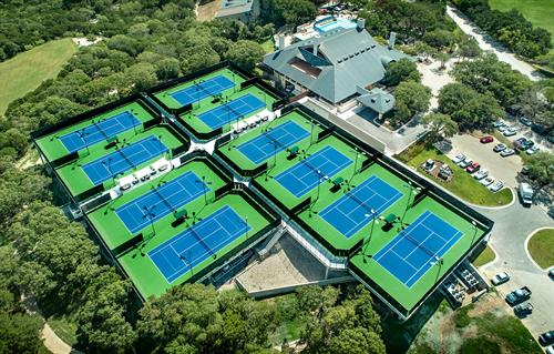 Barton Creek Tennis Courts