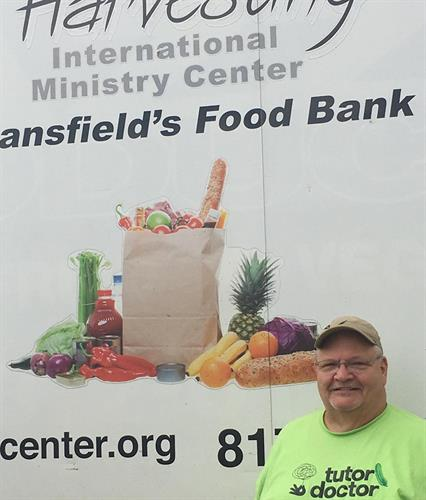 Mansfield Food Pantry Work