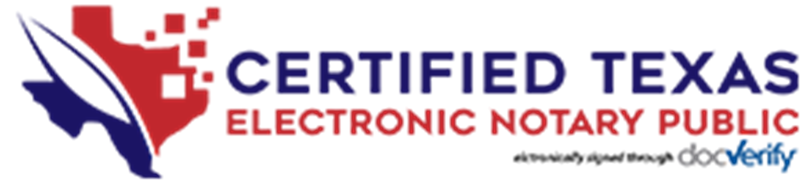 Certified Texas Electronic Notary Public