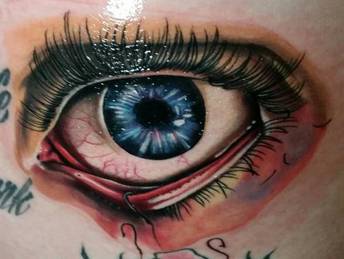 Eye See you By Pete Salais Owner of Pistol Petes Tattoo Saloon