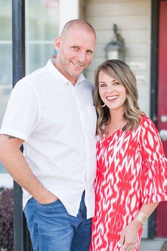 Rick & Angela Hornburg are proud to lead their business from downtown Mansfield