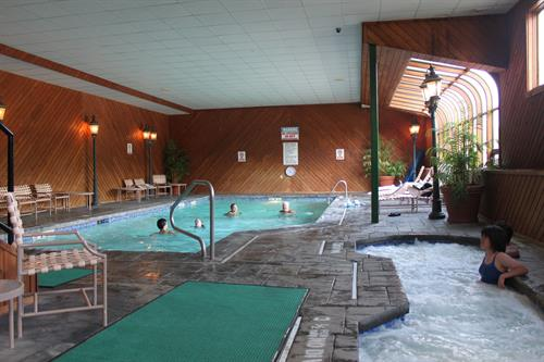 Fitness center with Cardio room, Weight room, Indoor Pool and Hot Tub, seasonal Outdoor pool and Hot Tub