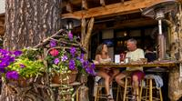 Our Dam Bar provides a homey, outdoor eating experience.