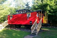 Caboose: Our most popular vacation rental