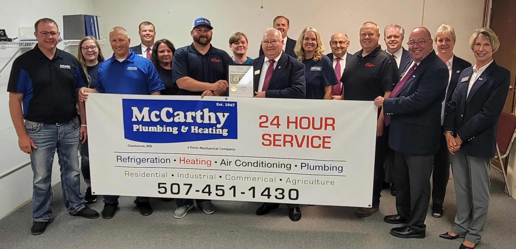 McCarthy Heating and Plumbing - The ones who will get the job done!
