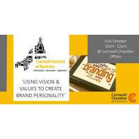 Using Vision and Values to create brand personality