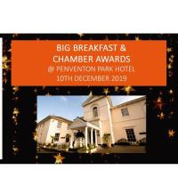 December BIG Breakfast and Chamber Awards 2019 at the Penventon Hotel
