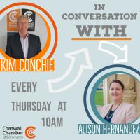 Kim Conchie in conversation with Alison Hernandez