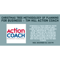 Christmas Tree Methodology of Planning for Business - Tim Hill Action Coach