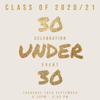 30 under 30 Class of 2020/21 Awards