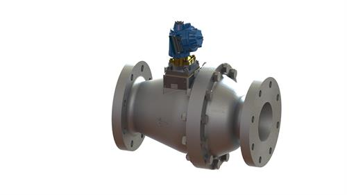 Tank filling shut off control valve