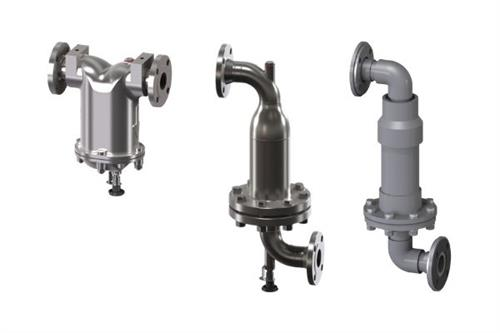 Water drain and density valves