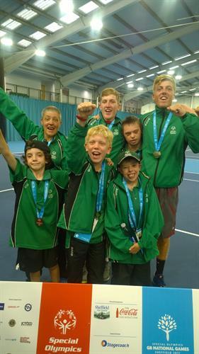 SO Cornwall Tennis Squad