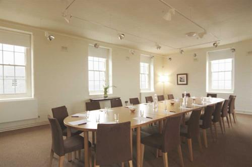 Boardroom in the Melvill Room, Pendennis Castle